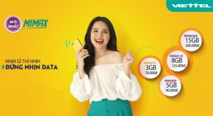 Cách Đăng Ký Các Gói Cước 3G 4G Mimax Viettel