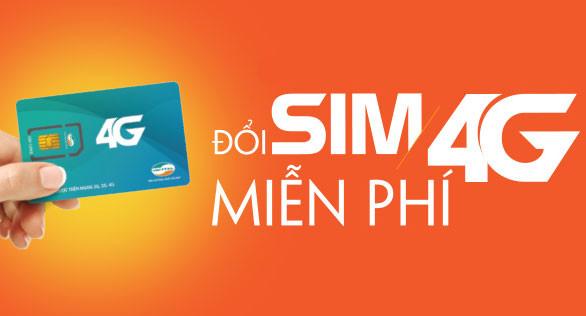 Chuyển đổi sim 3G sang 4G Viettel ở đâu có mất phí không