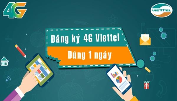 Hướng Dẫn Đăng Ký Gói Data 3G 4G Viettel 1 Ngày