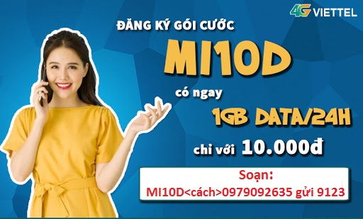 4G Viettel ngày MI10D