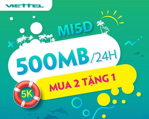 MI5D gói cước mua thêm 4G Viettel