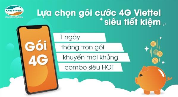 gói cước 4G Viettel