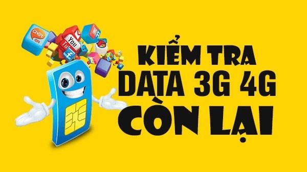 Kiểm tra data 4G Viettel